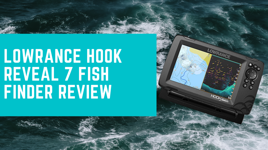 Lowrance Hook Reveal 7 Fish Finder 7 Inch Screen with ...